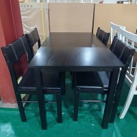 4인용 식탁(블랙)