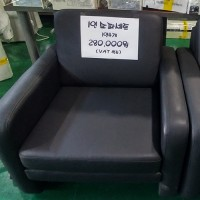 1인쇼파x4개(블랙)